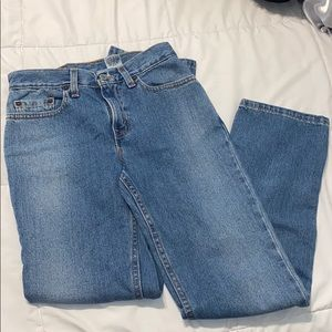 GORGEOUS HIGH RISE LEVI'S 505 MOM JEANS